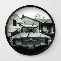 Hearse Wall Clock