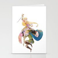 hyrule Stationery Cards featuring Hyrule Warriors by TwilightSaphir