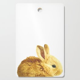 Bunny Portrait Cutting Board