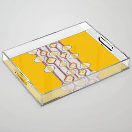 Stitches - Growing bubbles Acrylic Tray
