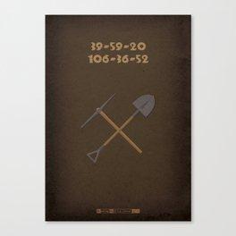 Breaking Bad - Buried Canvas Print