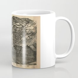 Bird's Eye View of Aspen, Colorado (1893) Coffee Mug