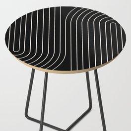 Minimal Line Curvature II Side Table