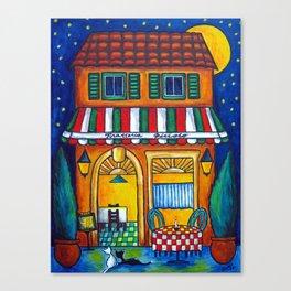 The Little Trattoria Canvas Print