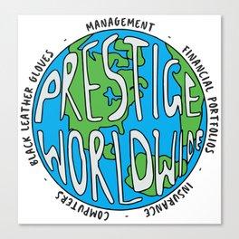 Step Brothers | Prestige Worldwide Enterprise | The First Word In Entertainment | Original Design Canvas Print
