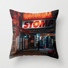 STOMP Throw Pillow