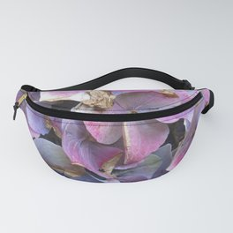 Hydrangea blue and purple Fanny Pack