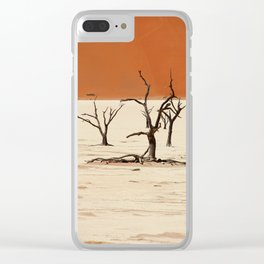 NAMIBIA ... Deadvlei II Clear iPhone Case