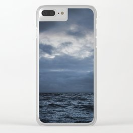 The Sea and the Sky Clear iPhone Case