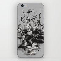 swim iPhone & iPod Skins featuring SWIM by SPYKEEE