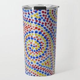 Swirling Dots 2 Travel Mug