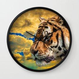 Free Tiger Wall Clock