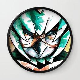 Artistic-Decidueye by Villiam Boom Wall Clock