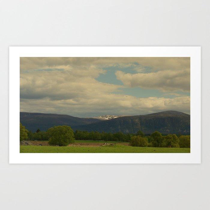 Where the Last Scottish Shepherds Tread Art Print