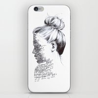 the national iPhone & iPod Skins featuring THE NATIONAL by Alice Green