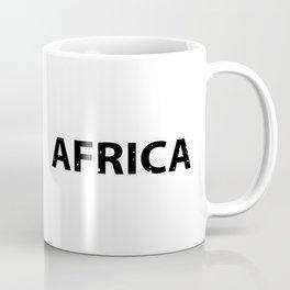 Animals of Africa Coffee Mug