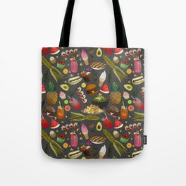Summer BBQ Cookout Tote Bag