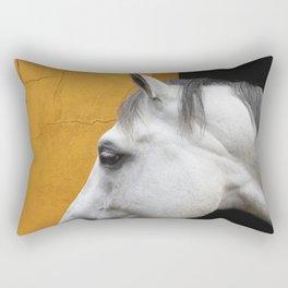 Cleo - Fine art horse print Rectangular Pillow