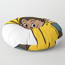 rafting gift raft dinghy raft whitewater Floor Pillow