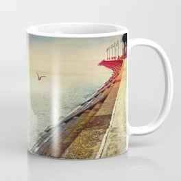 Breakwater on Lake Ponchartrain Coffee Mug
