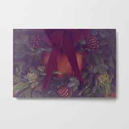 Wreath Metal Print