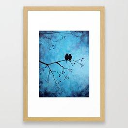 In The Moon Light Framed Art Print