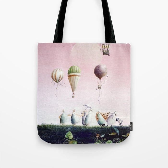Un Deux Trois Tote Bag by riekono