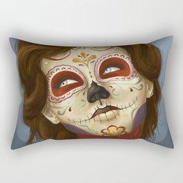 Feliz día de los Muertos Rectangular Pillow