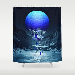 Fall To Pieces II Shower Curtain