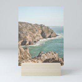 Ocean Coast Line 3 Mini Art Print