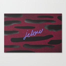 JELOU Canvas Print