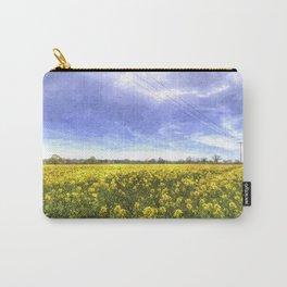 Yellow Fields Of Summer Art Carry-All Pouch