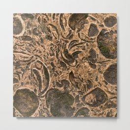 Stone background 3 Metal Print