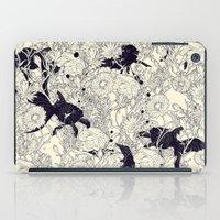 wallpaper iPad Cases featuring Hide and Seek by nicebleed
