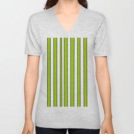 Strips 7-line,band,striped,zebra,tira,linea,rayas,rasguno,rayado. Unisex V-Neck