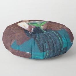 John William Waterhouse - Circe Invidiosa Floor Pillow