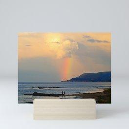 Adventure under the Rainbow Mini Art Print