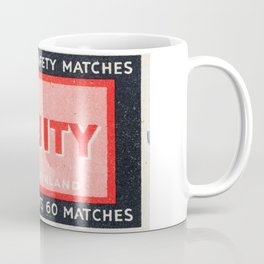 Old Matchbox label #2 Coffee Mug