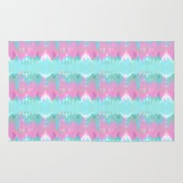 Summer Vibes Tie Dye in Cotton Candy Rug