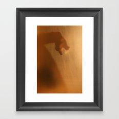 'Untitled 8' - Body language series. Framed Art Print