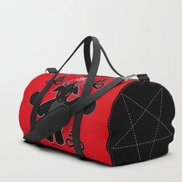 Baphomet Teddy Duffle Bag