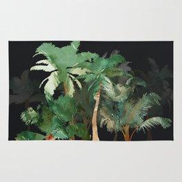 Tropical Landscape Rug