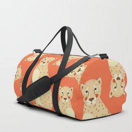 Cheetah, Animal Portrait Duffle Bag