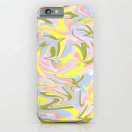 Marble pattern design iPhone Case