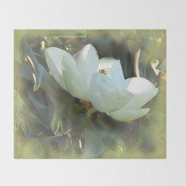 Magnolia Kiss Throw Blanket