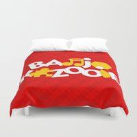 banjo Duvet Covers featuring Banjo-Kazooie - Red by Byway