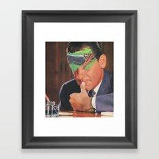 Internal Conflict Framed Art Print