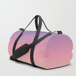 Lilac pink yellow Ombre . Duffle Bag