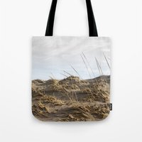 dune Tote Bags featuring Dune by Nancy J's Photo Creations