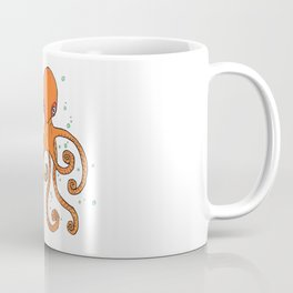 Octopus and Bubbles Coffee Mug